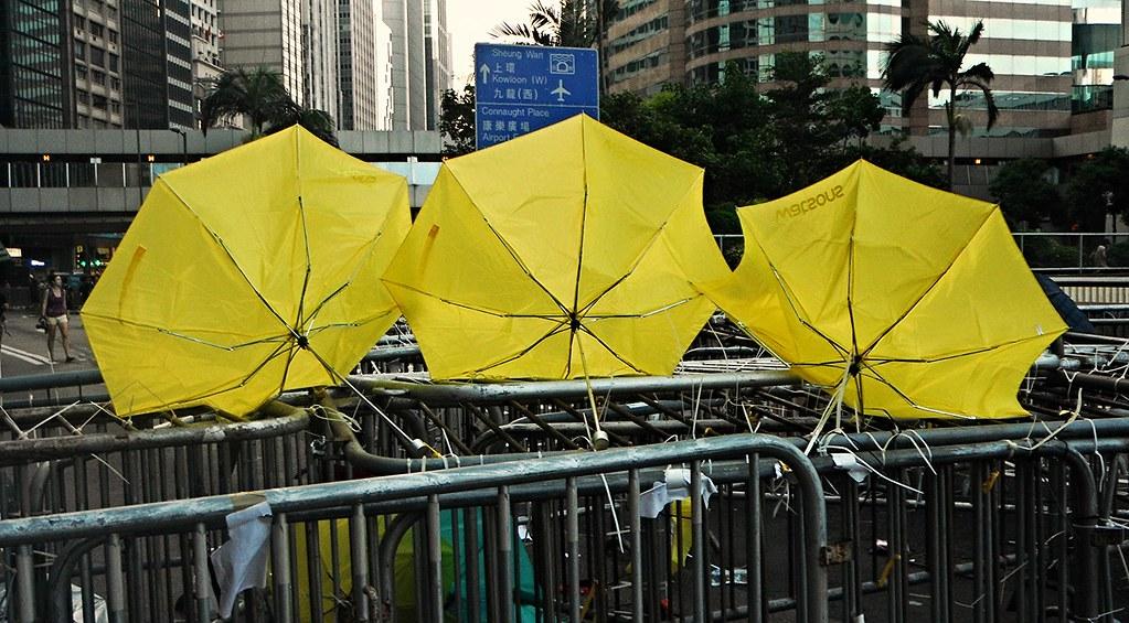 Icon Yellow Yellow Umbrella Icon of