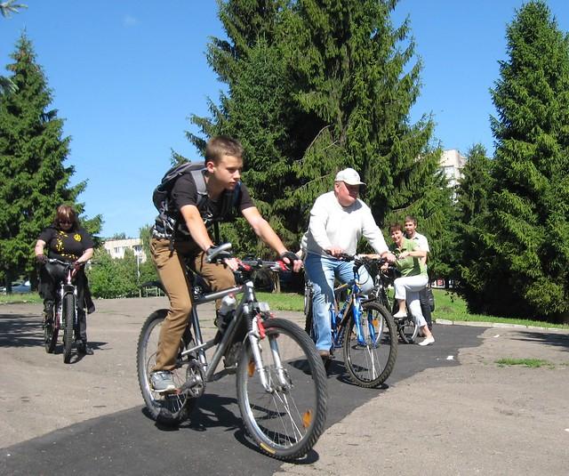 Перша в Рівному велодоріжка — з ініціативи дітей