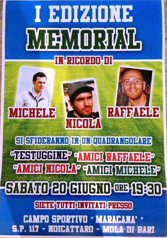 Noicattaro. Memoria Michele, Nicola e Raffaele intero