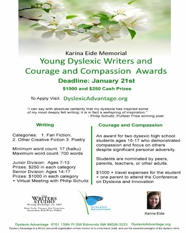 http://www.123contactform.com/form-1102543/Karina-Eide-Dyslexic-Young-Writers-Awards