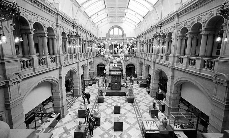 Interior Space, Art Gallary in Glasgow