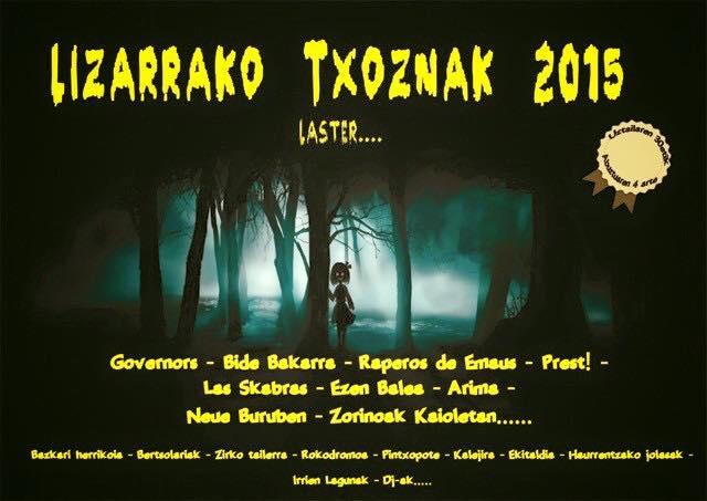 Txosnak 2015 Lizarra