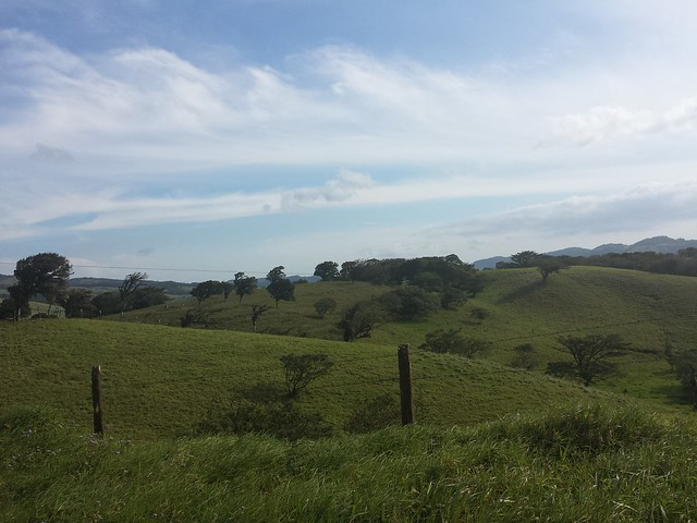 Arrivée au Monteverde...