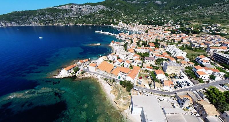 Komiza on island Vis, Dalmatia, Croatia