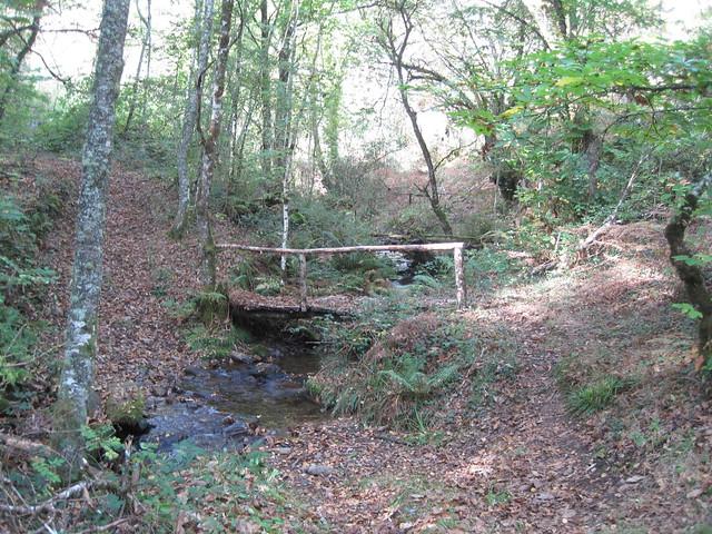 Puente en el PR-G 145 Ruta da Marronda - Alto Eo