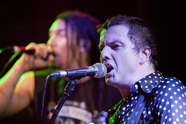 Snot en concierto en la sala Rocksound
