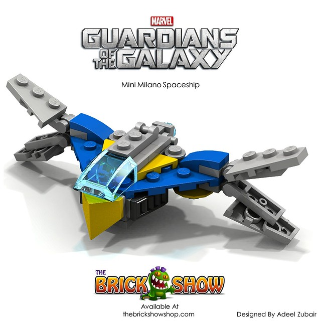 LEGO Guardians Of The Galaxy - Mini Milano Spaceship