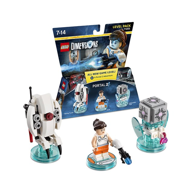LEGO Dimensions Amazon: 71203 - Portal 2 Chell Level Pack