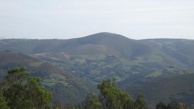 Vistas en el PR-G 145 Ruta da Marronda - Alto Eo
