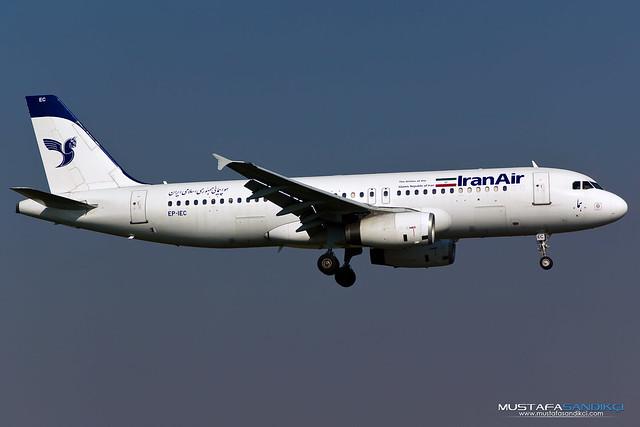 EP-IEC Iran Air Airbus A320-232