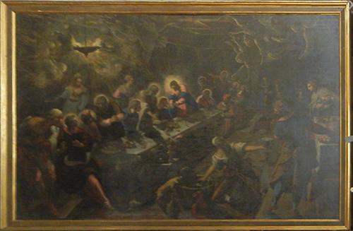 DSCN0357_m _ Last Supper, Jacopo Tintoretto, San Giorgio Maggiore, Venezia, 11 October - 500