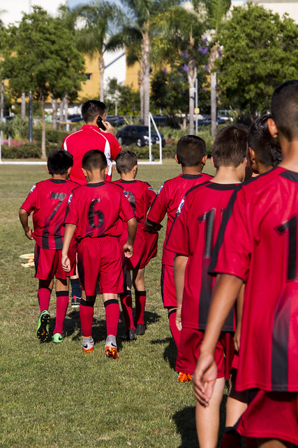 AYSO players