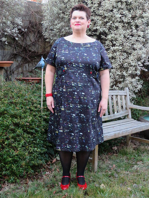 Simplicity 1466 - City Lights dress
