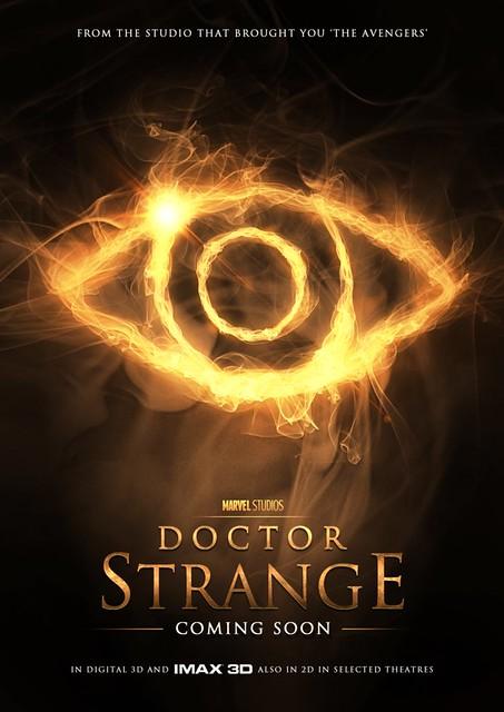doctor strange fan poster