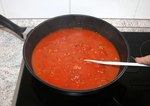 13 - Verrühren & aufkochen lassen / Mix & bring to a boil