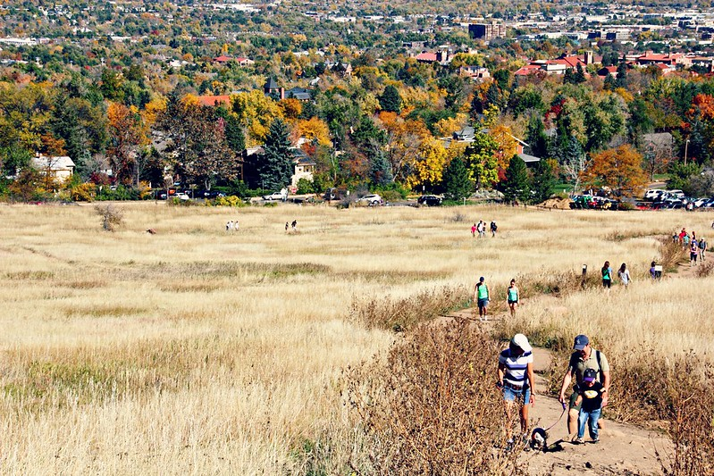 Chautauqua Park in October