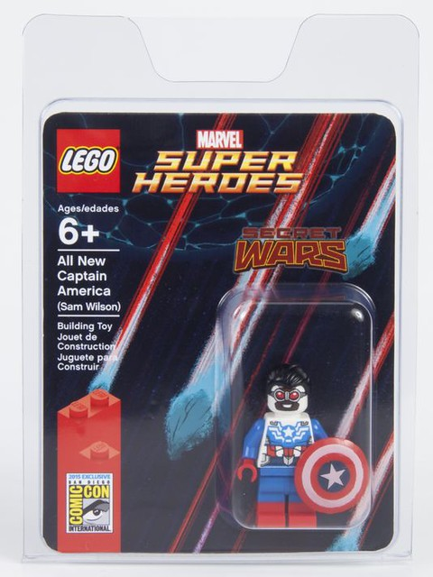 San Diego Comic Con 2015 | LEGO Marvel Super Heroes - Exclusive Sam Wilson (SDCC 2015)