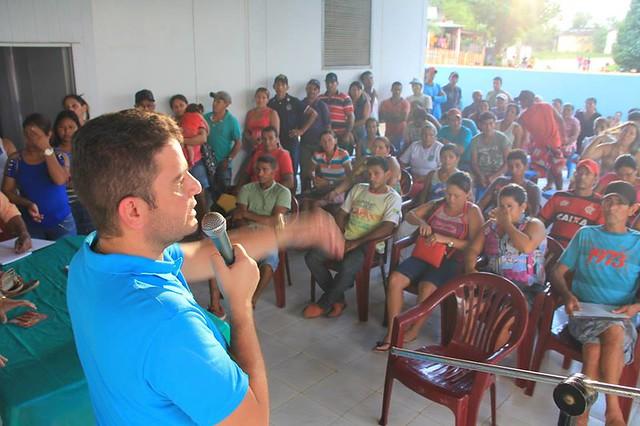 Reunião com pescadores de Assis Brasil