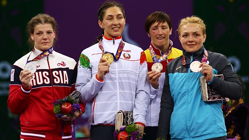 European Games Podium