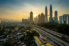 Sunrise at Kampung Baru, Kuala Lumpur
