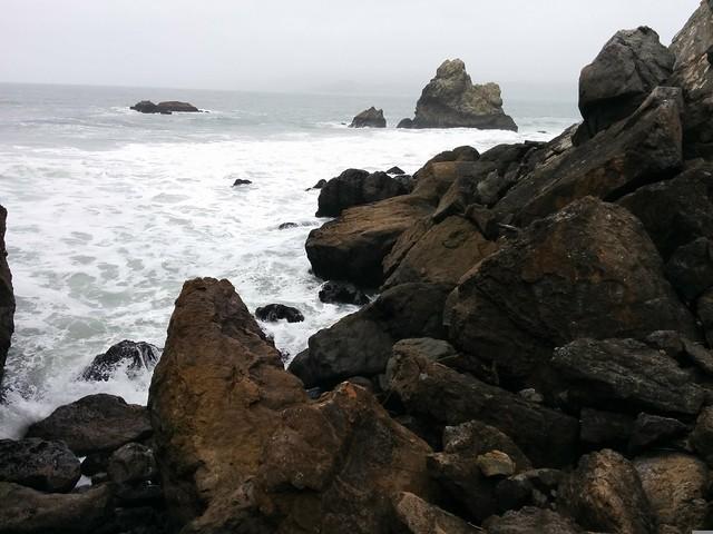 Rocks near Sutro Baths