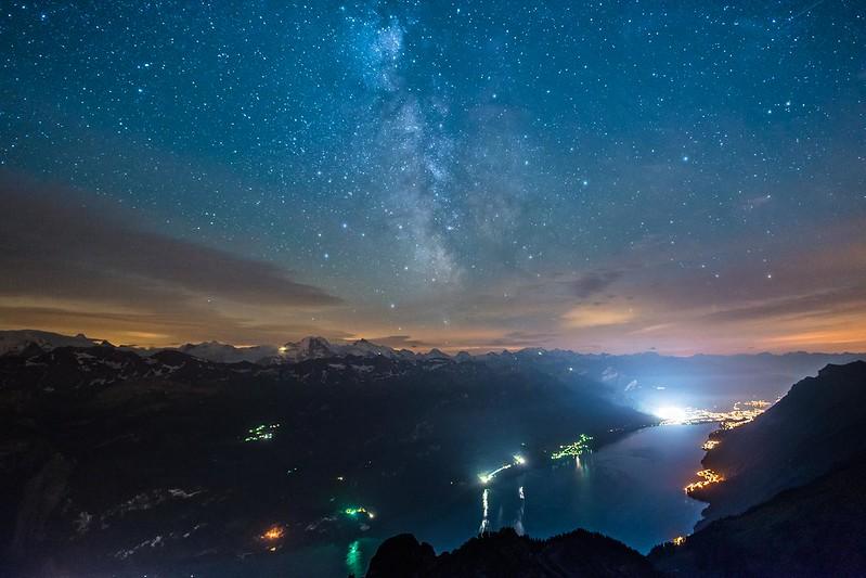 Milky way over Brienz - Brienzer Rothorn