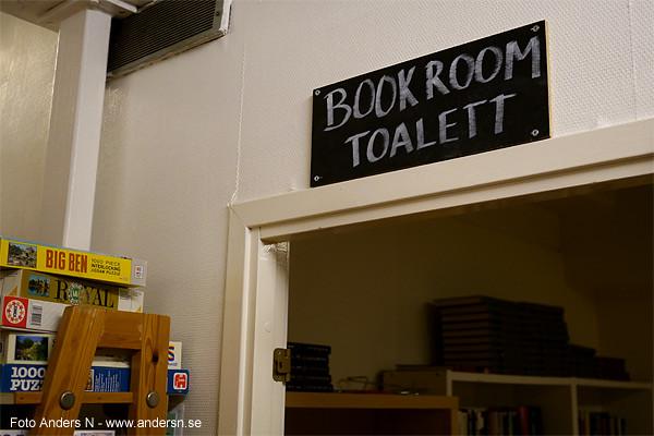 book room, toalett