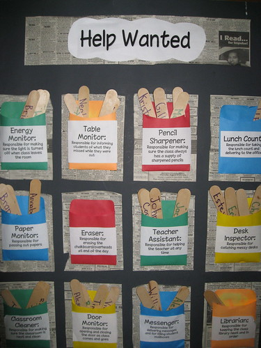 Bulletin Board - Help Wanted | by klpoulos