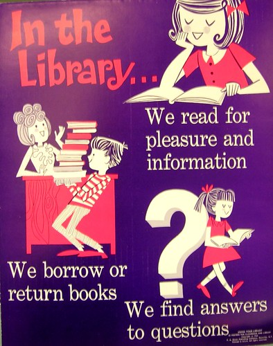 RETRO POSTER - In the Library | by Enokson