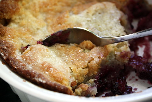 Scoop of cobbler | by Completely Delicious