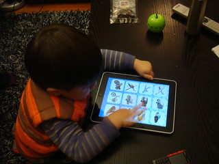 Scott - one of the first iPad toddler fans | by Scott & Elaine van der Chijs