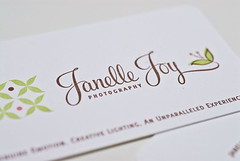 Janelle Joy Photography :: Business Cards | by Luxecetera