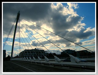 The connection between the south and the north of Dublin @ The IFSC - the magical design and mood of an emerging romance! Enjoy!:) The capital of Ireland!:) | by || UggBoy♥UggGirl || PHOTO || WORLD || TRAVEL ||