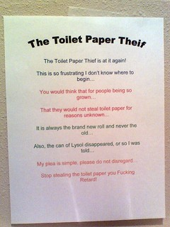 Toilet Paper Poetry Slam | by passiveaggressivenotes