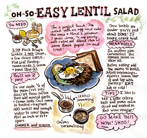 Let's Make Lentil Salad! | by featherbed