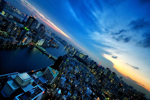 Tokyo Bay Area at Dusk | by hidesax