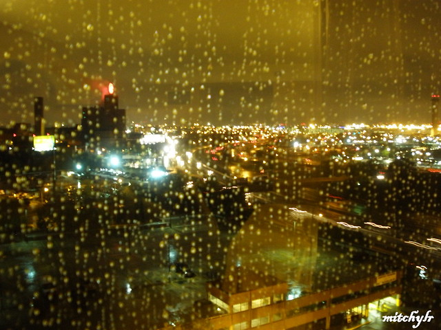 Rainy Newark Night