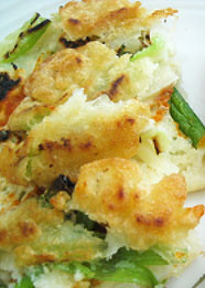 James Fajardo's vegetable pancake | by maangchi