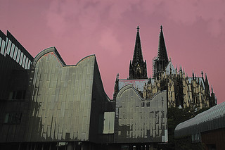 Philharmonic Hall and Cologne Cathedral Popart | by scorpion (13)