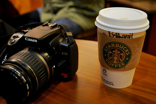 Canon Rebel XTi & Starbucks Coffee | by CAUT
