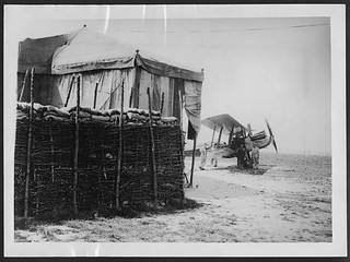 Dug-outs for aeroplanes | by National Library of Scotland