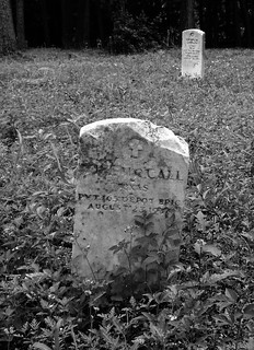 Veterans, Humble Negro Cemetery, Humble, Texas 0508101307BW | by Patrick Feller