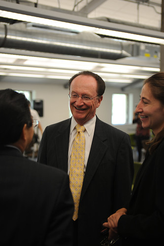 President Rush and Ms. Garcia at OLLI room dedication, September 2008. | by California State University Channel Islands