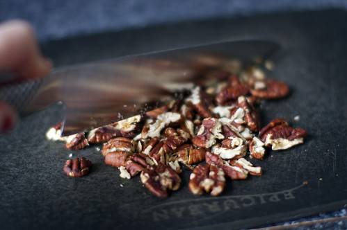 chopping toasted pecans | by smitten kitchen