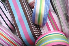 Striped Grosgrain Ribbon | by such pretty things