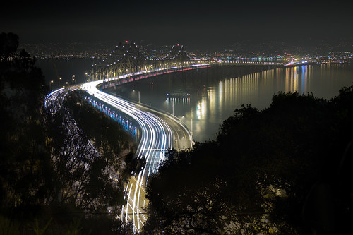 Bay Bridge S curve before and after | by exxonvaldez