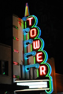 Tower Theater Lit Anew | by Lynne's Lens