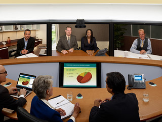 Cisco TelePresence System 3010 | by Cisco Pics