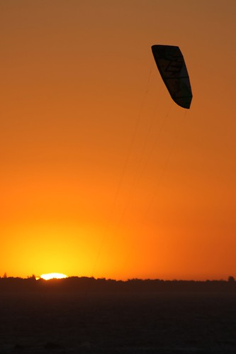 Sunset Kite Surfing | by Blyzz