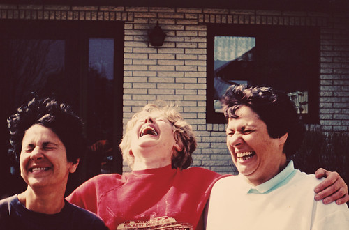 Mom and cousins laughing | by kmcphillips22